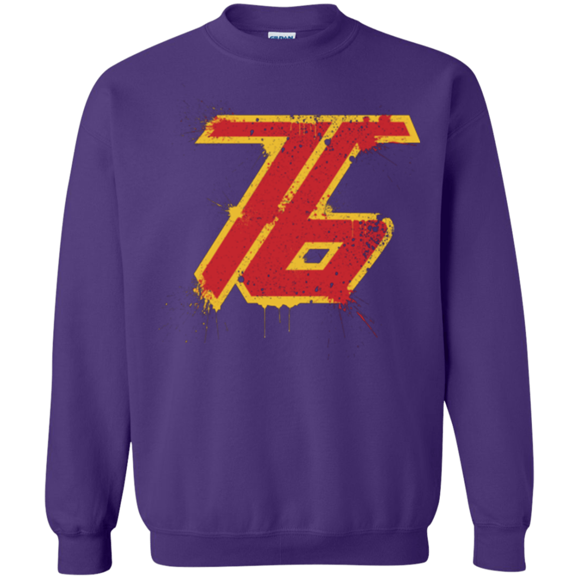 Sweatshirts Purple / Small Soldier 76 Crewneck Sweatshirt
