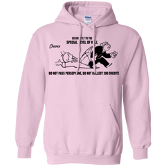 Sweatshirts Light Pink / Small Special Level of Hell Pullover Hoodie