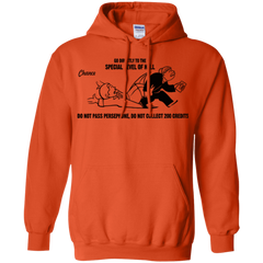 Sweatshirts Orange / Small Special Level of Hell Pullover Hoodie