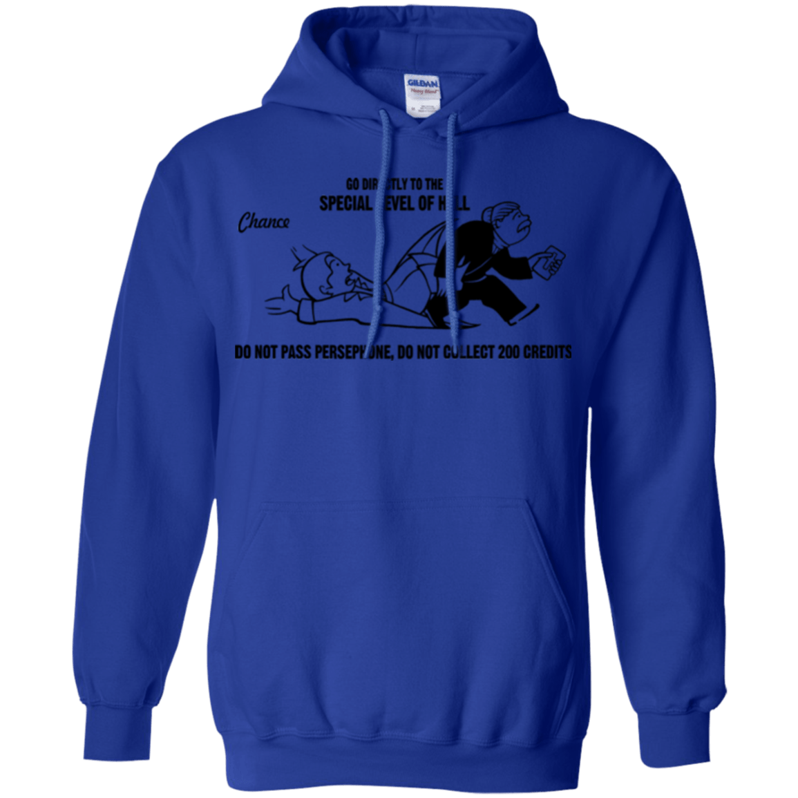 Sweatshirts Royal / Small Special Level of Hell Pullover Hoodie