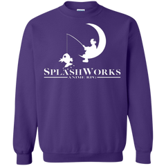 Sweatshirts Purple / Small Splash Works Crewneck Sweatshirt