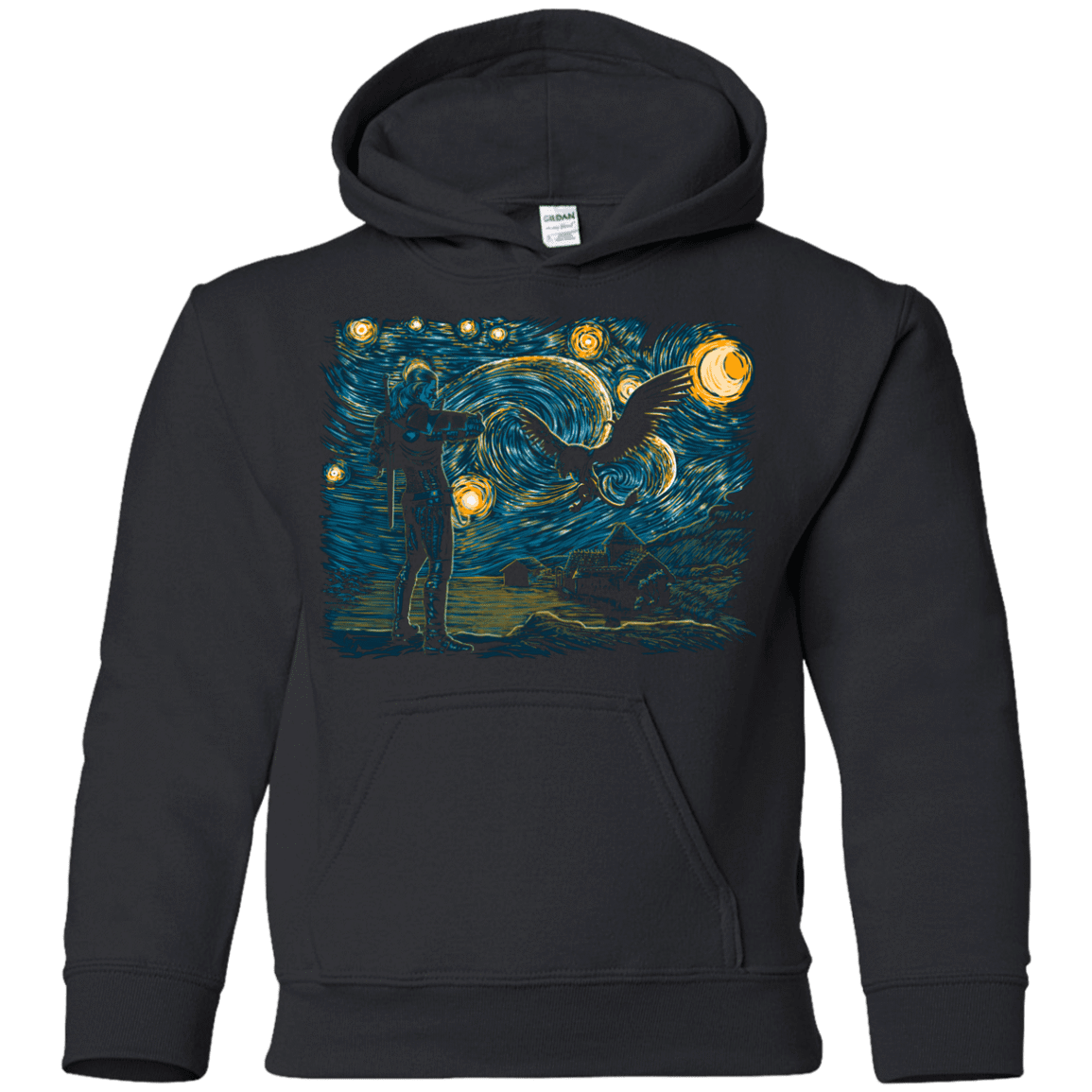 Starry Hunt Youth Hoodie