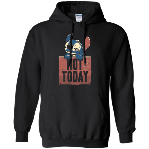 Sweatshirts Black / S Stitch Not Today Pullover Hoodie
