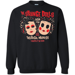 Sweatshirts Black / Small STRANGE DOLLS Crewneck Sweatshirt