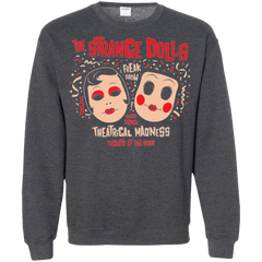 Sweatshirts Dark Heather / Small STRANGE DOLLS Crewneck Sweatshirt