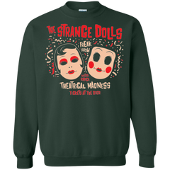 Sweatshirts Forest Green / Small STRANGE DOLLS Crewneck Sweatshirt