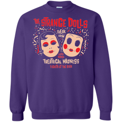 Sweatshirts Purple / Small STRANGE DOLLS Crewneck Sweatshirt