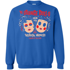 Sweatshirts Royal / Small STRANGE DOLLS Crewneck Sweatshirt