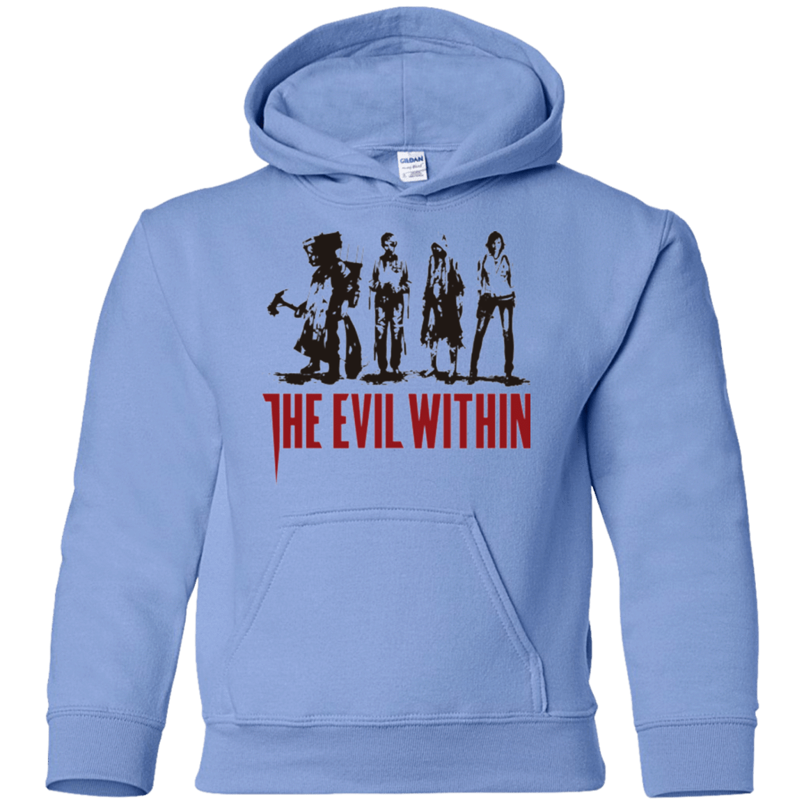 Sweatshirts Carolina Blue / YS The Evil Within Youth Hoodie