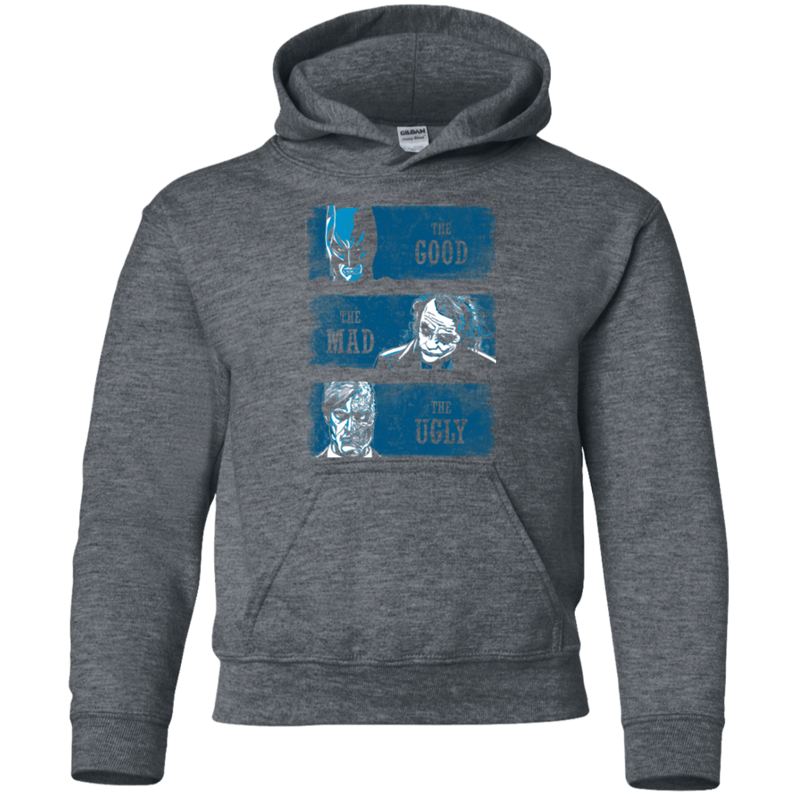 The Good the Mad and the Ugly Youth Hoodie