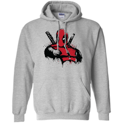 The Merc in Red Pullover Hoodie