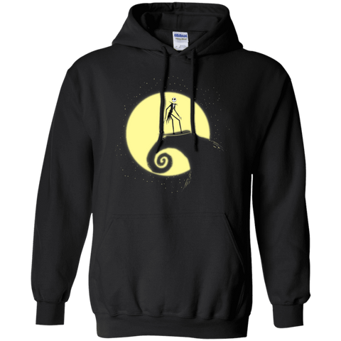 The Night Before Surfing Pullover Hoodie