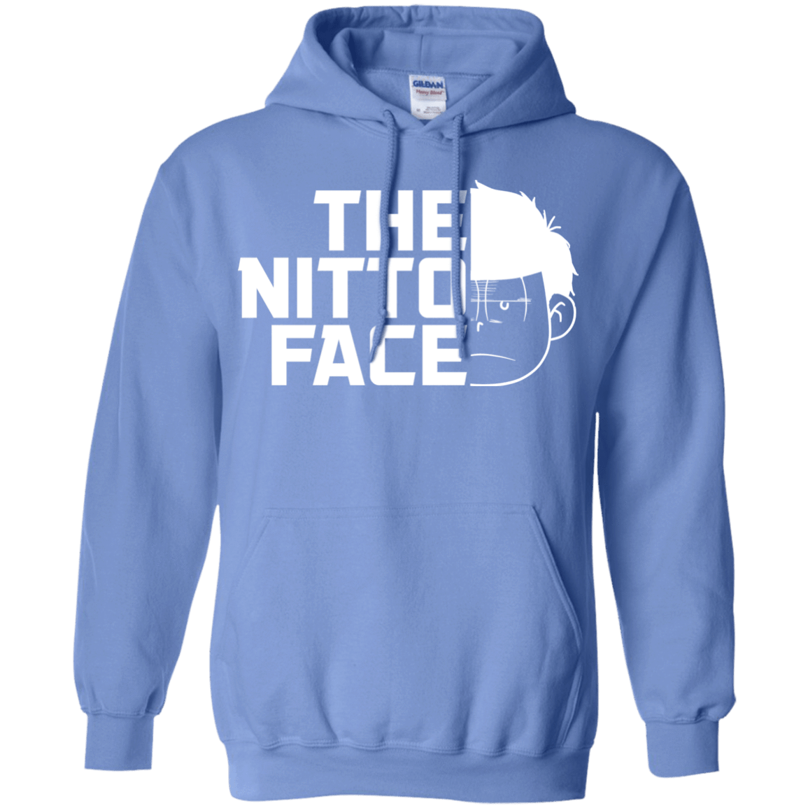 Sweatshirts Carolina Blue / S The Nitto Face Pullover Hoodie