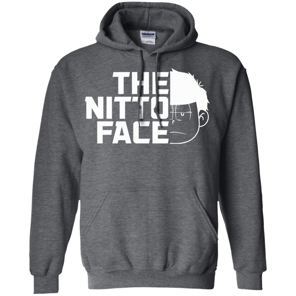 Sweatshirts Dark Heather / S The Nitto Face Pullover Hoodie