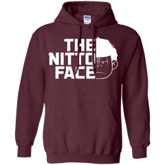 Sweatshirts Maroon / S The Nitto Face Pullover Hoodie