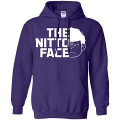 Sweatshirts Purple / S The Nitto Face Pullover Hoodie
