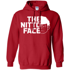 Sweatshirts Red / S The Nitto Face Pullover Hoodie