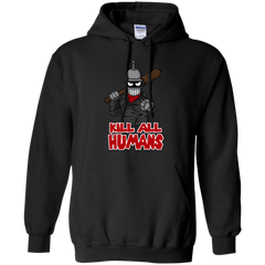 The Walking Bot Pullover Hoodie