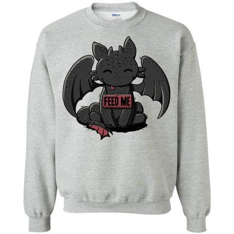 Toothless Feed Me Crewneck Sweatshirt
