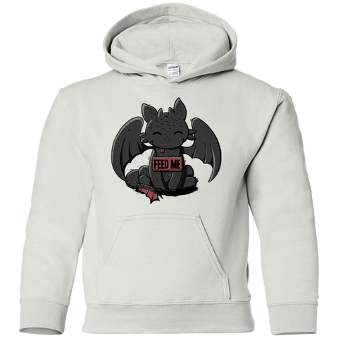 Toothless Feed Me Youth Hoodie