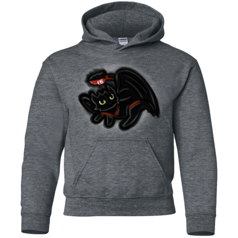 Sweatshirts Dark Heather / YS Toothless Simba Youth Hoodie