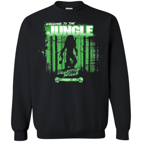 Welcome to Jungle Crewneck Sweatshirt