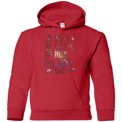 Sweatshirts Red / YS Where no Man has gone Before Youth Hoodie