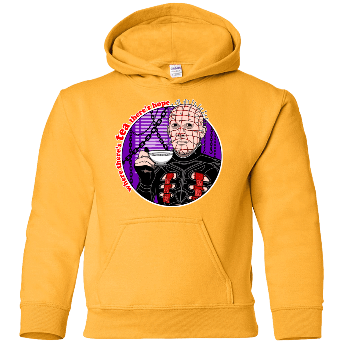 Where There's Tea Youth Hoodie