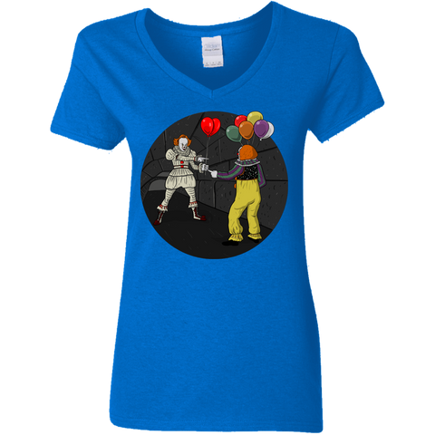 2 Pennywise Women's V-Neck T-Shirt