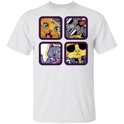 4 Cool Cats T-Shirt