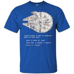 T-Shirts Royal / Small 8-Bit Charter T-Shirt