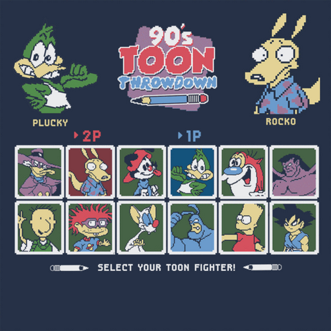 90s Toon Throwdown T-Shirt