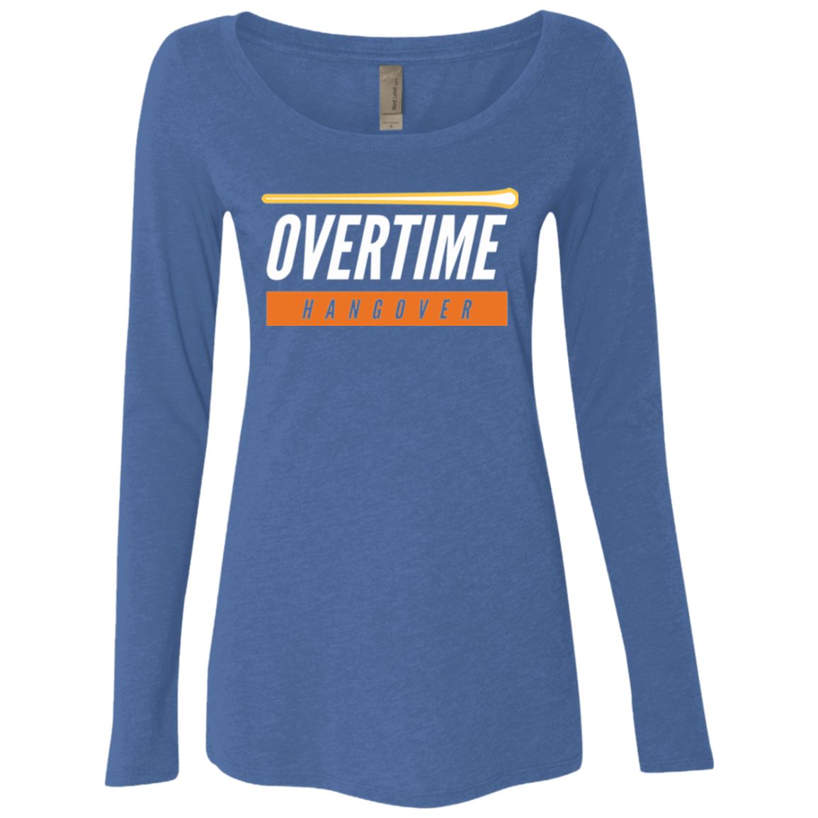 99 Percent Hangover Women's Triblend Long Sleeve Shirt