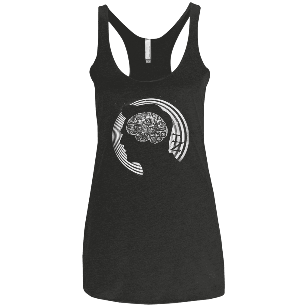 A Dimension of Mind Women's Triblend Racerback Tank