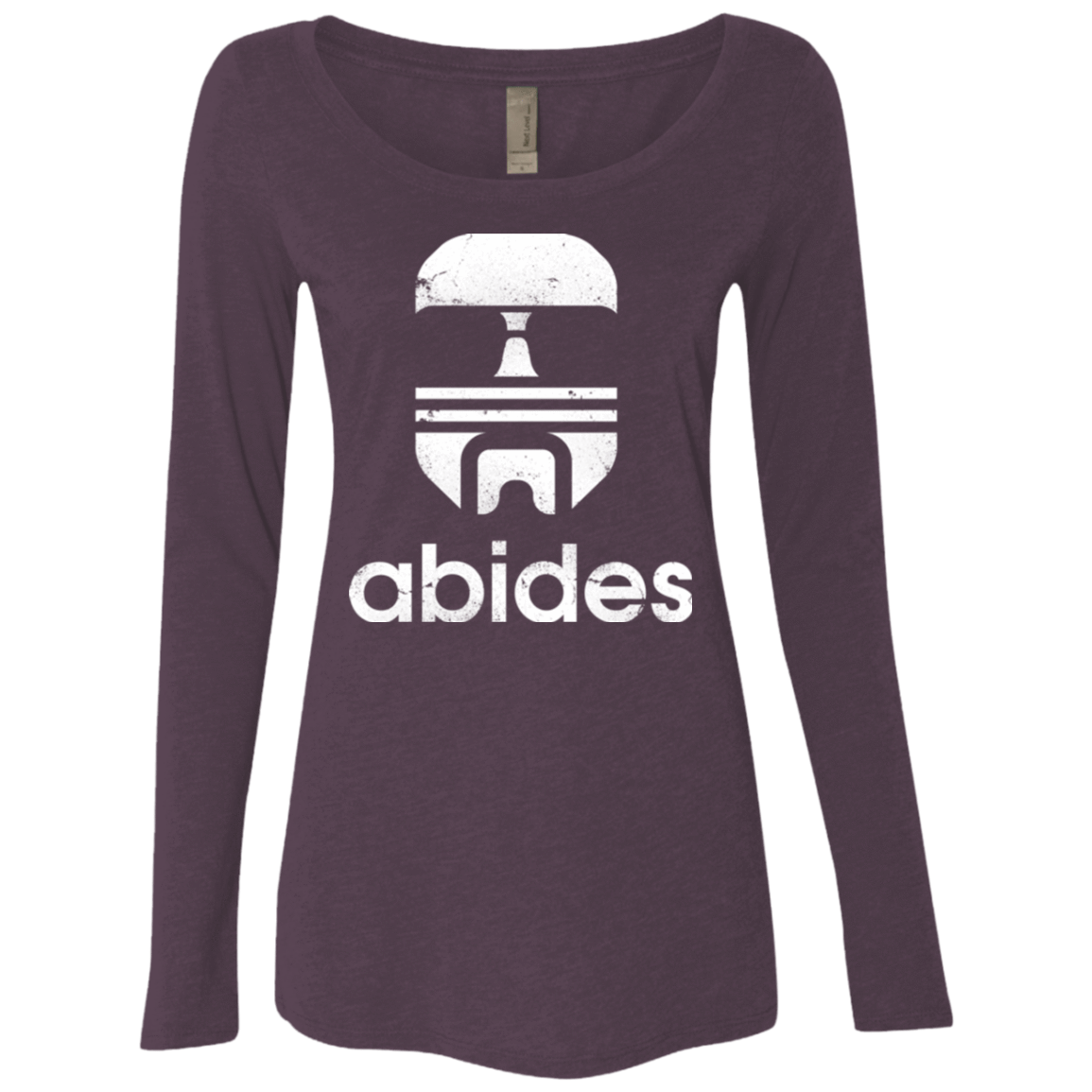 Abides Women's Triblend Long Sleeve Shirt