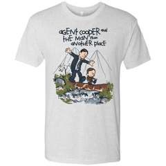 Agent Cooper and Men's Triblend T-Shirt