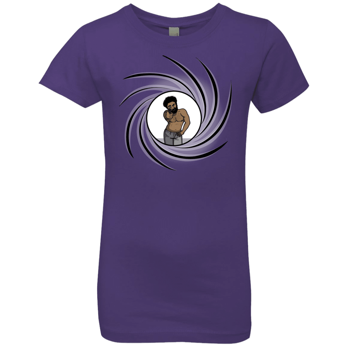 T-Shirts Purple Rush / YXS Agent Gambino Girls Premium T-Shirt