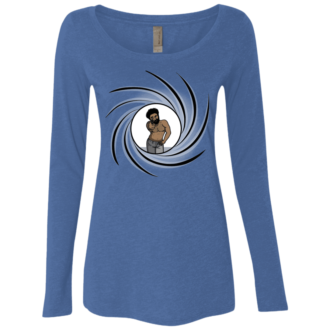 Agent Gambino Women's Triblend Long Sleeve Shirt
