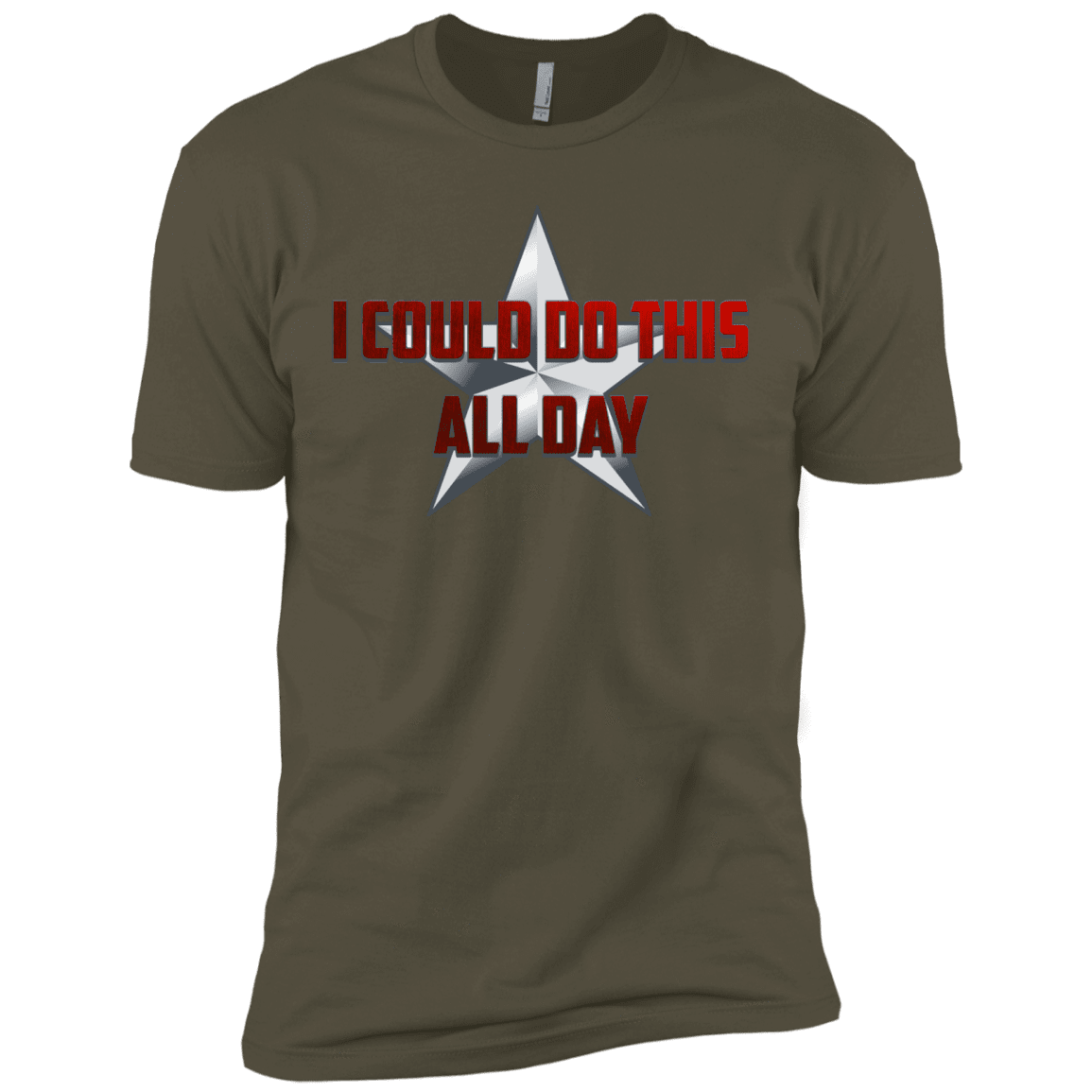 T-Shirts Military Green / X-Small All Day Men's Premium T-Shirt