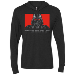All your rebel base are belongs to us Triblend Long Sleeve Hoodie Tee