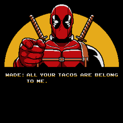 All Your Tacos Are Belong To Me T-Shirt