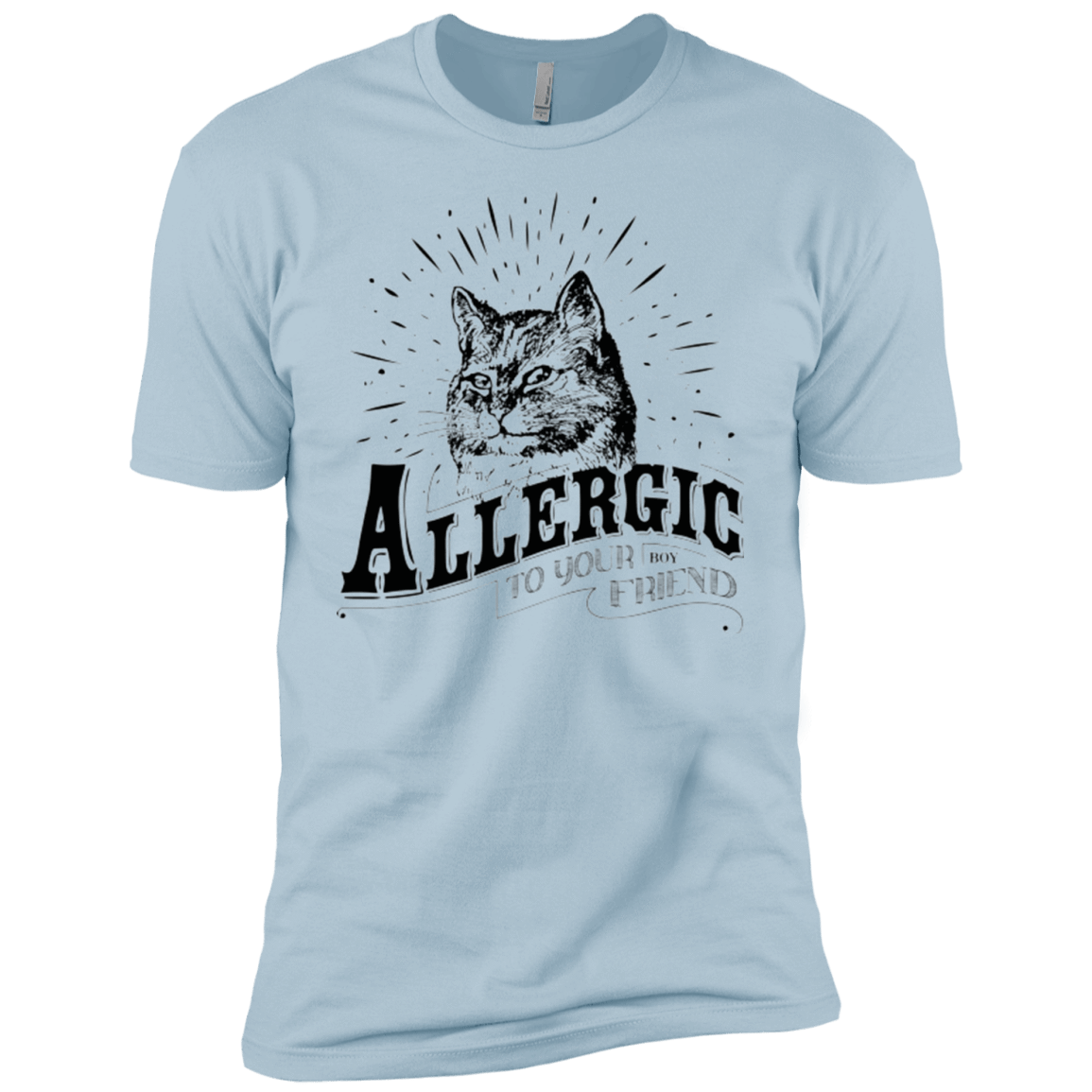 Allergic to your Boyfriend Boys Premium T-Shirt