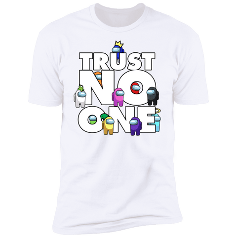 T-Shirts White / S Among Us Trust No One Men's Premium T-Shirt