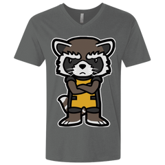 Angry Racoon Men's Premium V-Neck