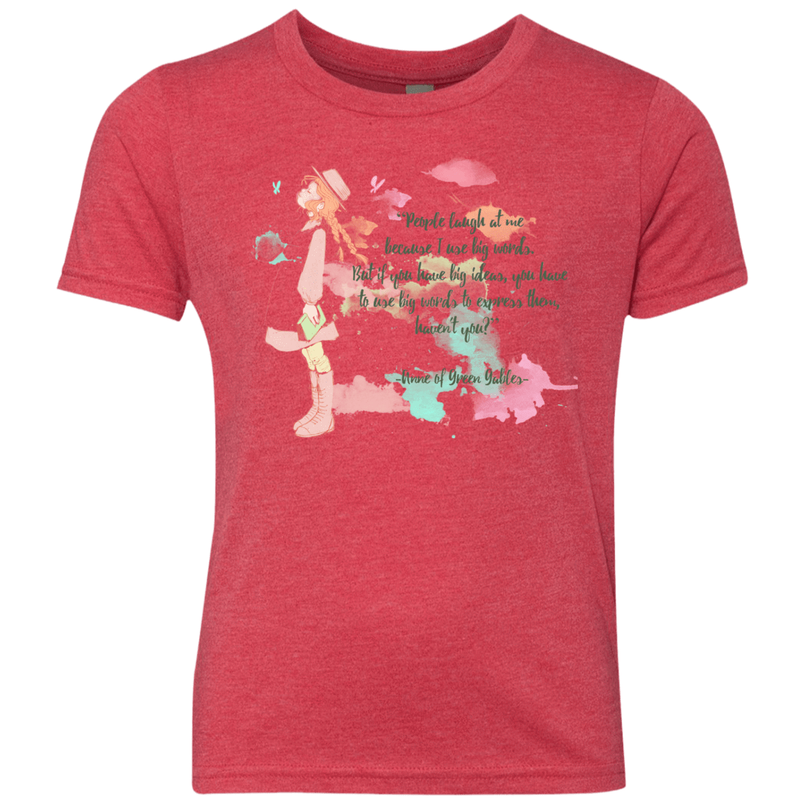 Anne of Green Gables 3 Youth Triblend T-Shirt