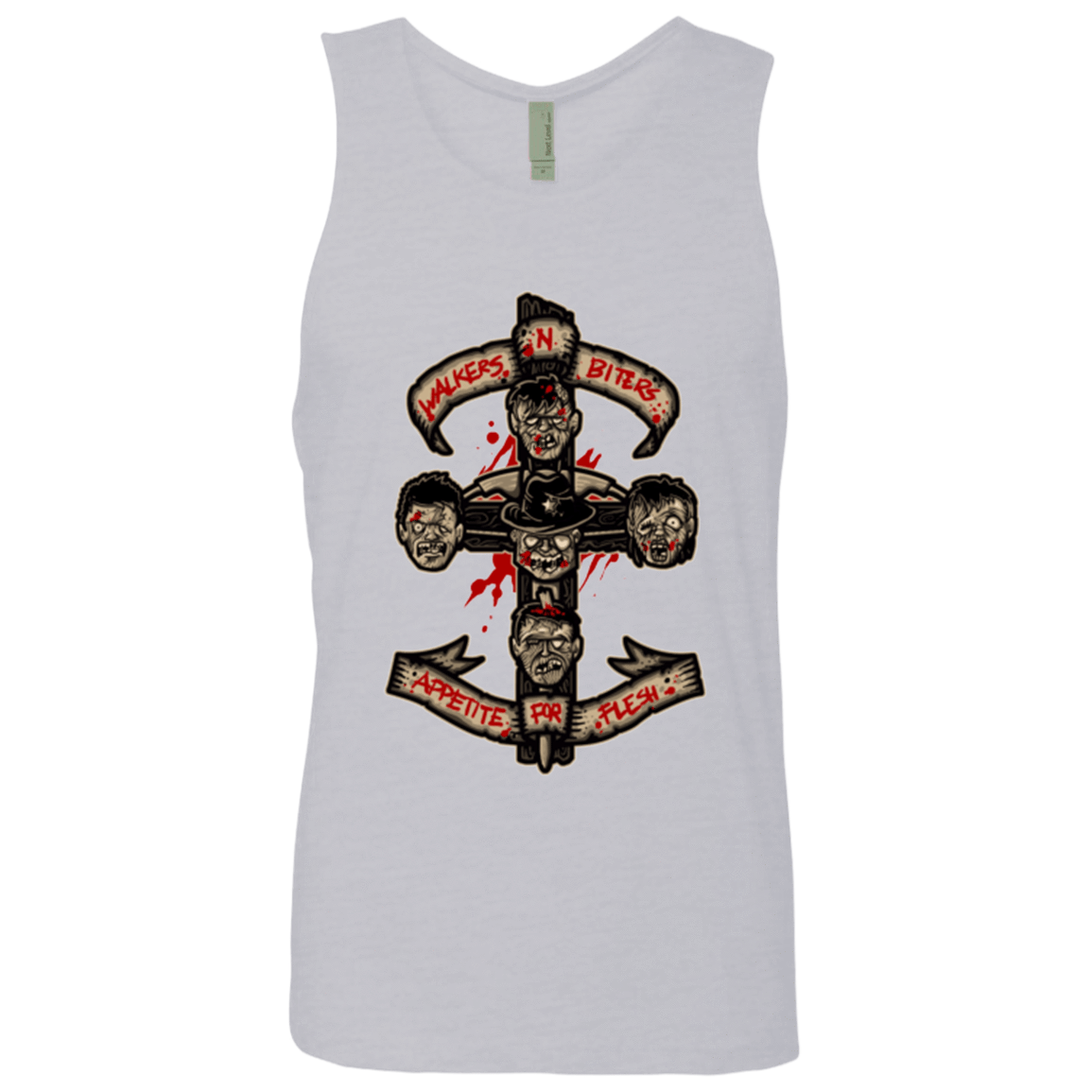 APPETITE FOR FLESH Men's Premium Tank Top