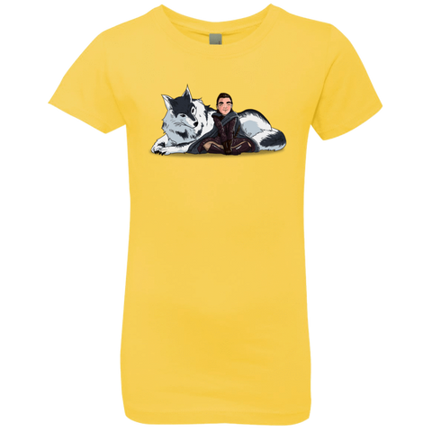Arya and Nymeria Girls Premium T-Shirt