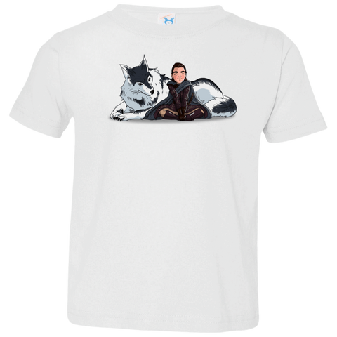 Arya and Nymeria Toddler Premium T-Shirt
