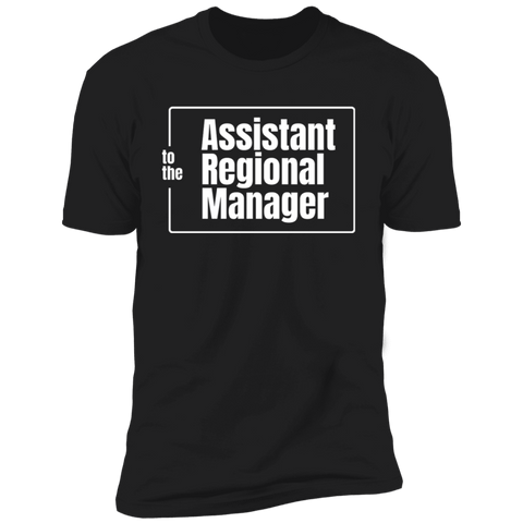 T-Shirts Black / S Assistant To The Regional Manager Men's Premium T-Shirt