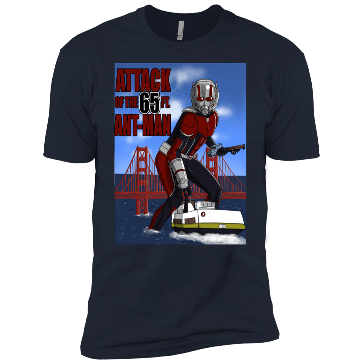 Attack of the 65 ft. Ant-Man Boys Premium T-Shirt